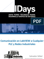 Comunicacion en Labview a Cualquier Plc y Redes Industriales