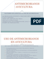 Antimicrobianos en Avicultura