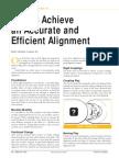 Alignment Steps