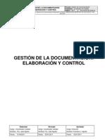 CAL00003_Gestión de la Documentación Elaboración y Control_ID[GESDOC00-00]DPR-REV-06-VIG-20120131-VIG-GCO
