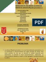 BEBIDAS ALCOHOLICAS. UCHUVA