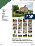 Woning (Villa) Te Koop Te Hoogstraten 8 - Heeren & Hillewaere