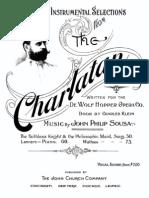 JPSousa the Charlatan Waltzes Pianosolo