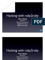 Hacking with ruby2ruby