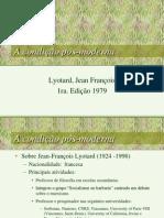 Lyotard Condicao Pos Modern A
