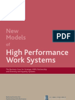 High Performance Workplaces