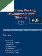 Simplifying Desktop Development With Glimmer