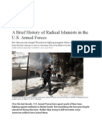 Islamists in the US Military