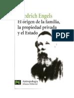 El Origen de La Familia, La Propiedad Privada y El Estado-F.engels
