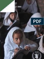 World Food Programme quarterly report July-September 2002
