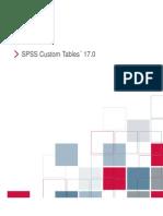 SPSS Custom Tables 17.0