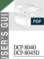 Manual Do Utilizador Dcp-8040-8045d Por Usr b