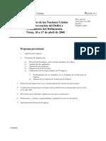 Décimo Congreso ONU prevención del delito
