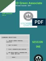 LEED GA Sessions1 2 1