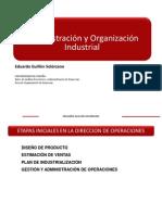 ADMINISTRACIÓN Y ORGANIZACIÓN INDUSTRIAL