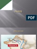 Paris y Su Urbanismo