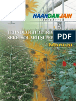 Sera Sistem Irigare, Control Climatic, Ingrijire, Detalii Tehnice