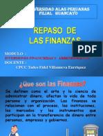 CLASE N° 001 REPASO DE LAS FINANZAS