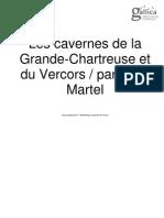 Martel_ Les Cavernes de La Grande-Chartreuse Et Du Vercors_1900
