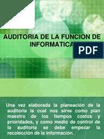4-Auditoria de La Funcion de Informatica