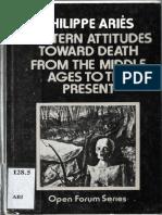 Philippe Aries - Western Attitudes Toward Death