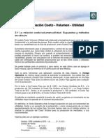 Lectura 2 - La relación Costo-Volumen-Utilidad