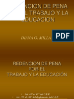 Beneficios CLASES Penitenciarios DE REDENCIÓN DE PENA UNMSM JULIO 2007