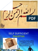 Self Sufficient Pakistan