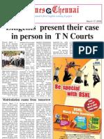 Times Chennai, E-paper, March 17, 2009