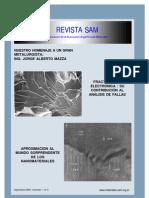 Analisis de falla y fractografía