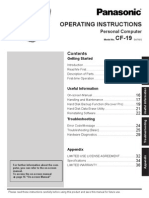 Panasonic Cf-19 User Manualv