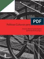 [CIDADES] Politicas Culturais Para Cidades