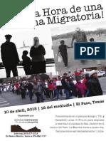 10 de abril Marcha por la Reforma Migratoria