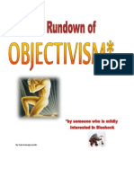 A Quick Rundown of Objectivism
