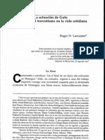 Roger Lancaster - La actuación de Guto - notas sobre el travestismo en la vida cotidiana.pdf