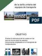 Calculo de La Tarifa Unitaria Del Flete SA