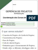 01 - Introdução à Projetos e Gerência de Projetos
