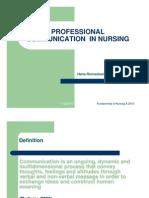 Komunikasi Dalam Pelayanan Kesehatan