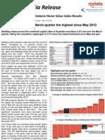 RP Data Rismark Home Value Index 2 Apr 2013 FINAL