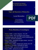 2. Tipos de Exercicio e Protocolos-Leonel Bernardino