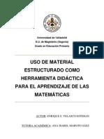 Matematicas Material Estructurado