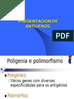 PRESENTACIÓN DE ANTÍGENO