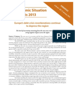 World Economic Situation 2013 Europe