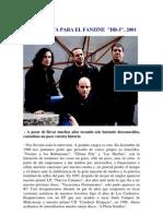 Entrevista Para El Fanzine Db5