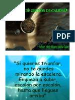 1 SISTEMA DE GESTIÓN DE CALIDAD  2012