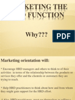 Marketing the HRD Function