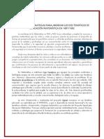 Diversidad de Estrategias Pensamiento y Matematica Espiral.