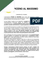 PAM - Comunicato stampa 17 marzo