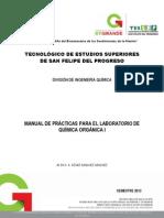 MANUAL DE PRACTICAS DE QUÍMICA ORGÁNICA TESSFP