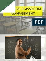 Effective Classroom Management Presentation